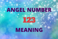 angel number 123 means in love