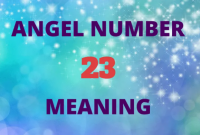 what does 23 mean in the bible?