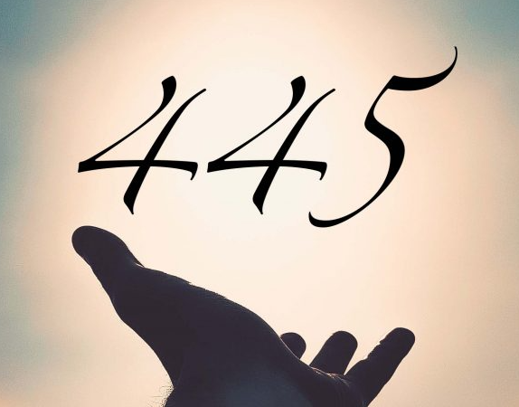 Number 445 means in love