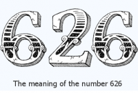 what is the meaning of 626 in love?