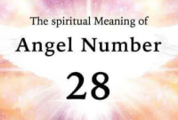 28 angel number in the bible