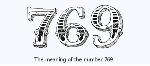 769 angel number means in love