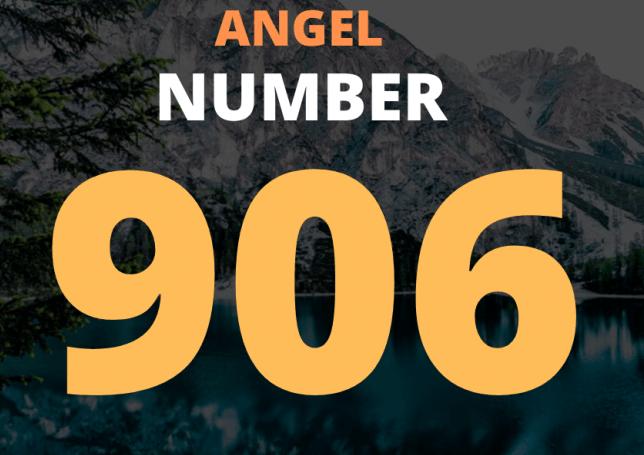 Seeing angel number 906